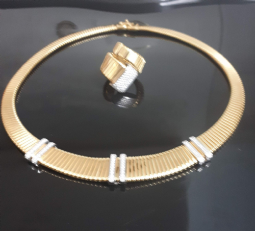 Tubogas Collar Necklace